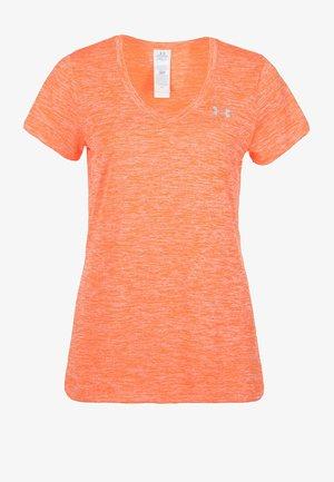 TECH TWIST - Jednoduché triko - orange
