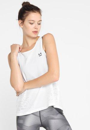 PERPETUAL TANK - Koszulka sportowa - white/tonal