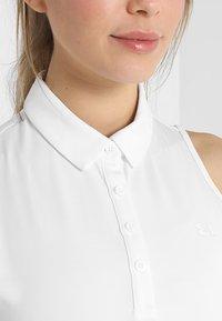 Under Armour - ZINGER - T-shirt sportiva - white - 6