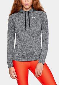 Under Armour - DAMEN TECH TWIST - Sports shirt - black/grey - 1