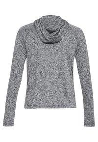 Under Armour - DAMEN TECH TWIST - Sports shirt - black/grey - 4