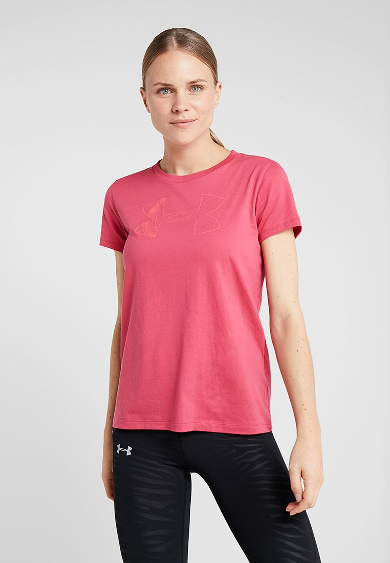 Under Armour - GRAPHIC CLASSIC CREW - T-Shirt print - impulse pink/perfection