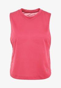 Under Armour - WHISPERLIGHT MUSCLE TANK - Funktionsshirt - impulse pink/tonal - 4