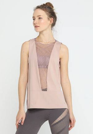 MISTY SIGNATURE EMBROIDERY TANK - Top - bashful pink/tonal