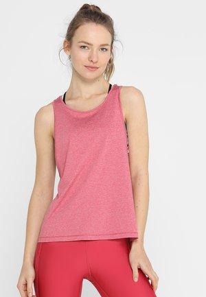 Sports shirt - impulse pink light heather/metallic silver