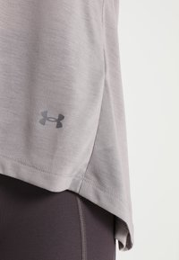 Under Armour - WHISPERLIGHT FOLDOVER - T-shirts med print - tetra gray/tetra gray/tonal - 6