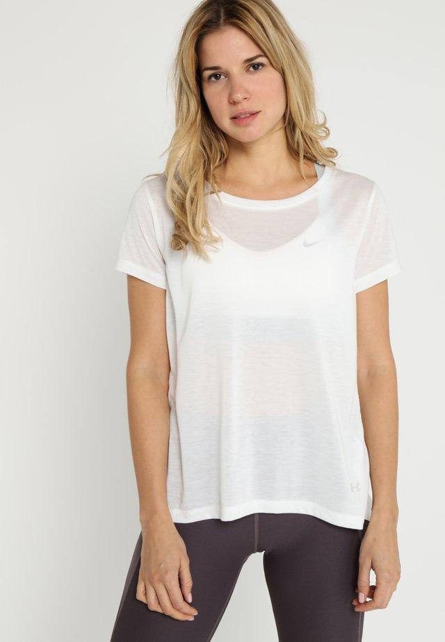 WHISPERLIGHT FOLDOVER - T-shirt imprimé - onyx white/onyx white/tonal