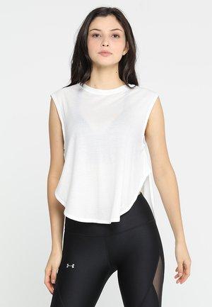 BREATHE DOLMAN - T-shirts - onyx white/tonal