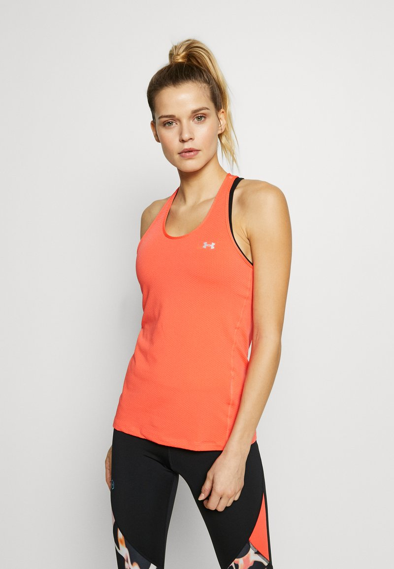 Under Armour - RACER TANK - Sportshirt - beta/metallic silver