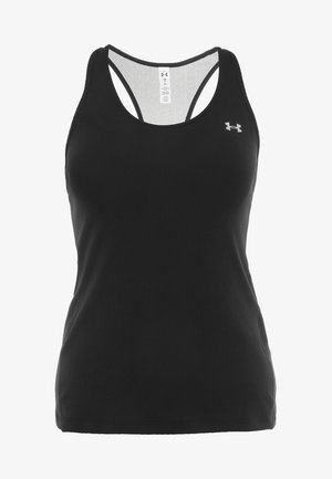 RACER TANK - Sports shirt - black