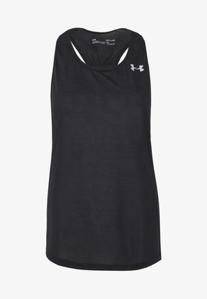 UA STREAKER 2.0 RACER TANK - Sports shirt - black