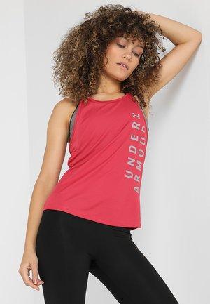 SPEED STRIDE SPLIT TANK - Treningsskjorter - impulse pink