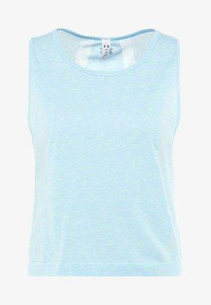 VANISH SEAMLESS SPACEDYE MUSCLE - Sports shirt - coded blue/metallic silver