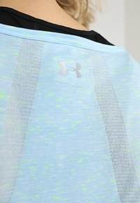 Under Armour - VANISH SEAMLESS SPACEDYE MUSCLE - Sportshirt - coded blue/metallic silver - 6