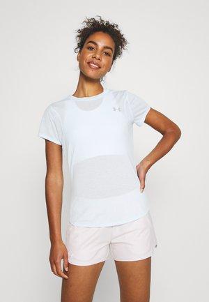 STREAKER SHORT SLEEVE - Basic T-shirt - breathtaking blue/reflective