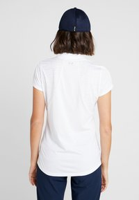 Under Armour - TOUR TIPS  - T-shirt con stampa - white/mod gray - 2