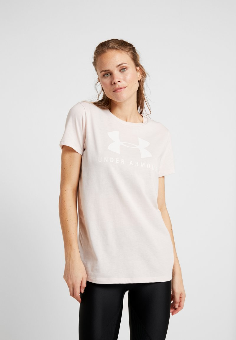 Under Armour - GRAPHIC SPORTSTYLE CLASSIC CREW - Print T-shirt - pink