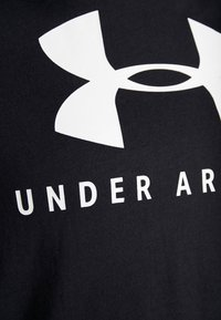 Under Armour - GRAPHIC SPORTSTYLE CLASSIC CREW - T-shirts print - black/onyx white - 5