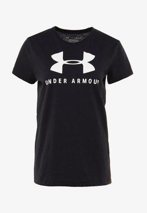 GRAPHIC SPORTSTYLE CLASSIC CREW - T-Shirt print - black/onyx white