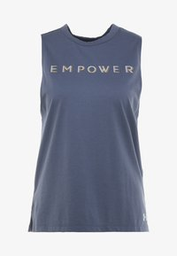 Under Armour - GRAPHIC EMPOWER MUSCLE TANK - Koszulka sportowa - nachtblau - 3