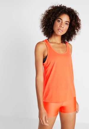 WHISPERLIGHT TIE BACK TANK - Top - peach plasma/metallic silver