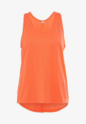 WHISPERLIGHT TIE BACK TANK - Toppi - peach plasma/metallic silver