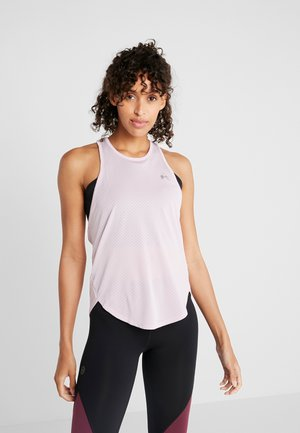 SPORT GRAPHIC TANK - Sports shirt - pink fog/metallic silver