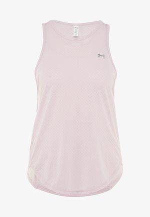 SPORT GRAPHIC TANK - T-shirt sportiva - pink fog/metallic silver