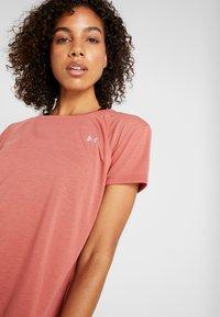 Under Armour - WHISPERLIGHT - Print T-shirt - fractal pink/metallic silver - 3