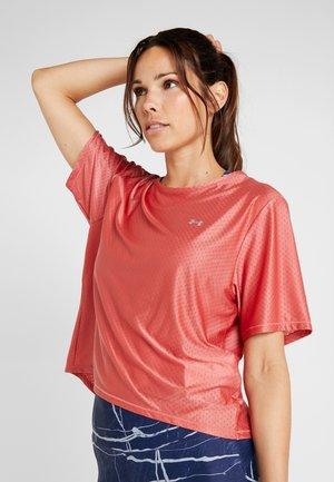 SPORT - Basic T-shirt - fractal pink/metallic silver