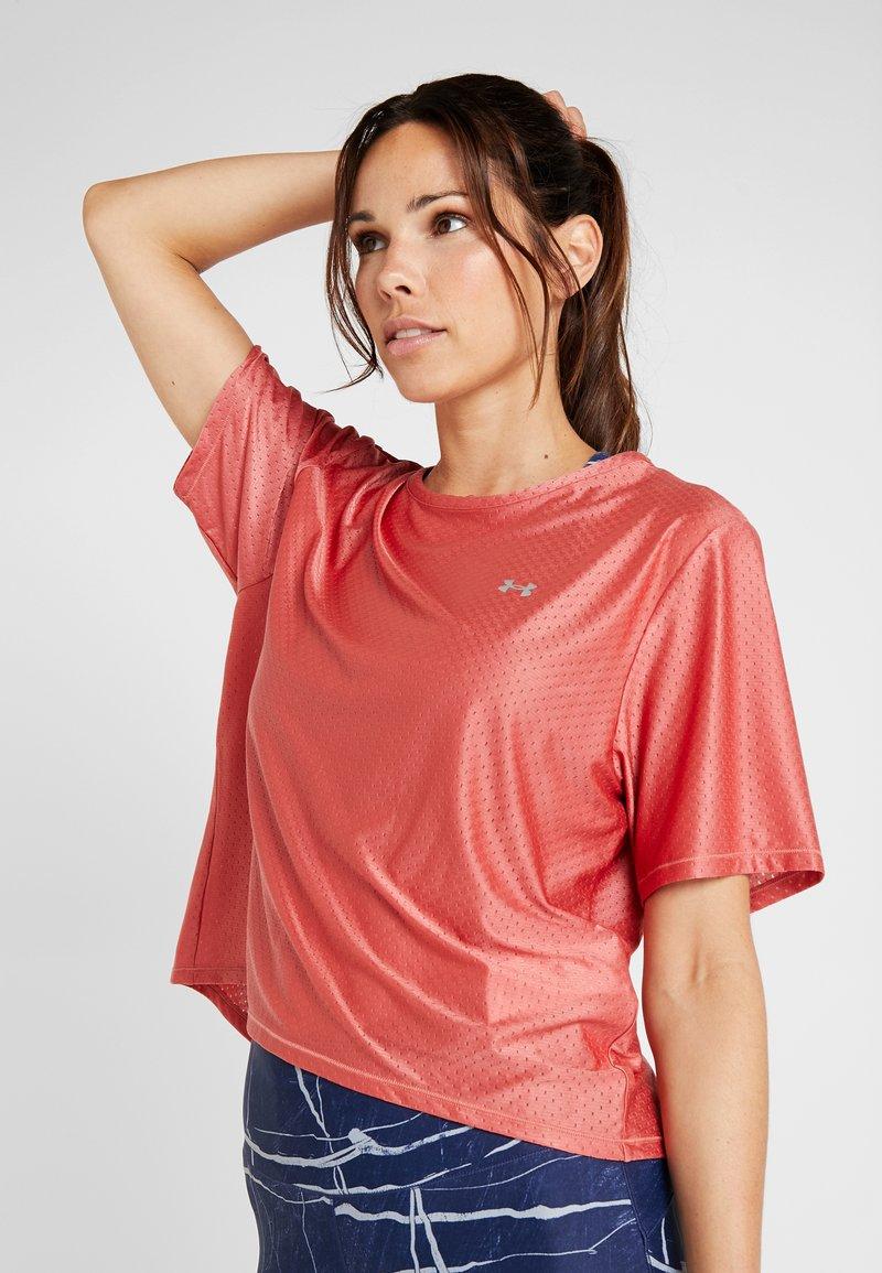 Under Armour - SPORT - T-shirt basic - fractal pink/metallic silver