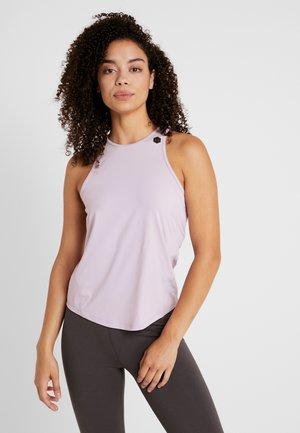 RUSH TANK - Sports shirt - pink fog/black