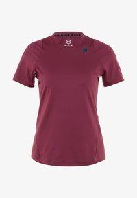 Under Armour - RUSH  - T-shirt basique - mauve - 3
