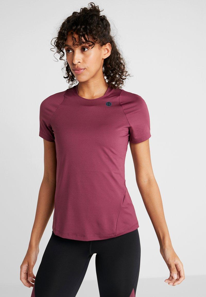 Under Armour - RUSH  - T-shirt basique - mauve