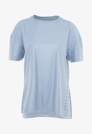 UNSTOPPABLE CIRE SIDE SLIT TUNIC - Camiseta estampada - blue heights/downpour gray