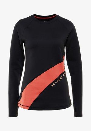 GRAPHIC - Long sleeved top - black/fractal pink