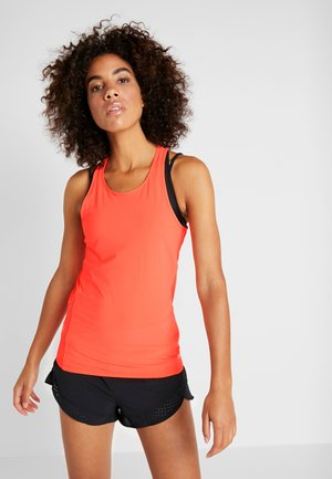 PERPETUAL FITTED TANK - Top - peach plasma/metallic cristal gold