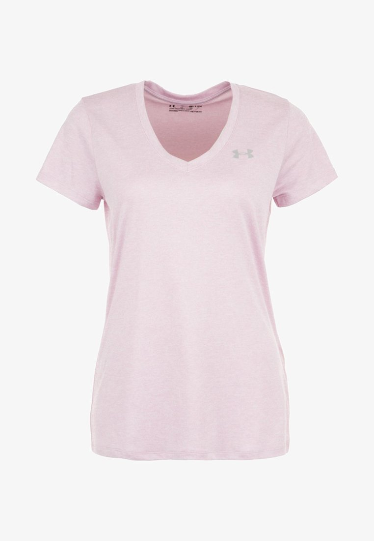 Under Armour - Basic T-shirt - pink