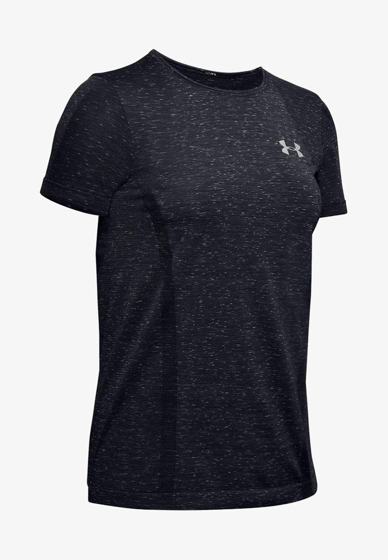 Under Armour - T-Shirt print - black