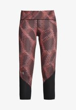FLY FAST HEATGEAR CROP - 3/4 sports trousers - dark red