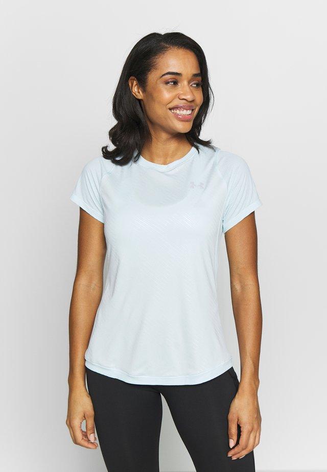 QUALIFIER ISO-CHILL EMBOSSED SHORT SLEEVE - T-shirt imprimé - rift blue