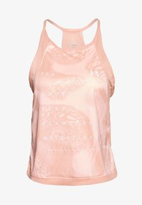 Under Armour - QUALIFIER ISO CHILL WEIGHTLESS TANK - Top - calla/reflective - 0