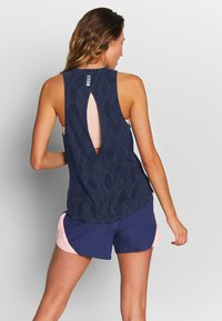 Under Armour - STREAKER 2.0 SHIFT TANK - Sports shirt - blue ink/midnight navy/reflective - 2