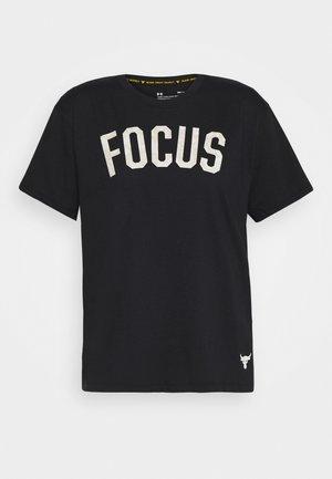 PROJECT ROCK MAHALO - Print T-shirt - black/summit white