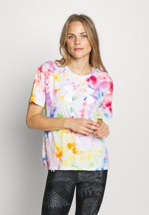 PRIDE TIE DYE GRAPHIC - T-shirt print - multicolor/white