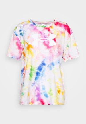 PRIDE TIE DYE GRAPHIC - T-shirt print - multi/white