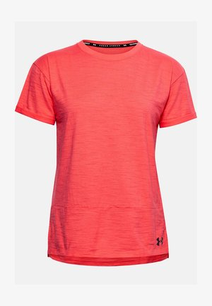 CHARGED  - Print T-shirt - rush red