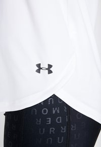 Under Armour - SPORT CROSSBACK - T-shirt print - white/black - 5