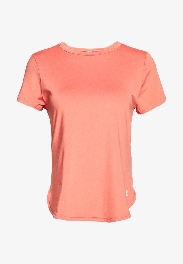 SPORT CROSSBACK - T-shirt con stampa - blush orange/peach frost