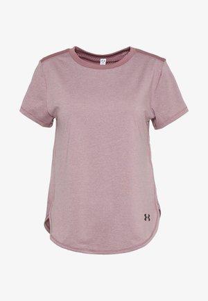 SPORT CROSSBACK - Printtipaita - hushed pink/black